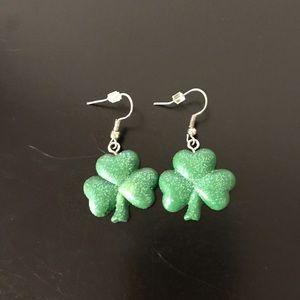 Shamrock earrings ☘️